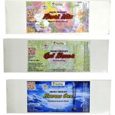 Floral Mix ,Gul Henna ,Heavens Own Premium Agarbatti Henna, Floral Agarbattis  (55 Units)