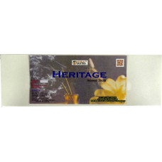 Heritage incense sticks Agarbatti 200 gm	399	275 Heritage Agarbattis  (109 Units)