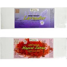 Lavender ,Magical Zafran Premium Agarbatti Lavender, Zafran Agarbattis  (55 Units)