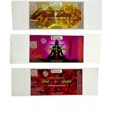 Oudh Loban ,Pure Soul ,Rouh e Gulab Premium Agarbatti Loban, Rose, Floral Agarbattis  (55 Units)