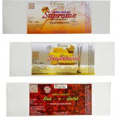 Rouh e Gulab ,Sandalwood ,Supreme King Premium Agarbatti Rose, Sandal, Woody Agarbattis  (55 Units)