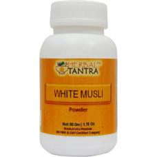 White Musli Powder (Ayurvedic) - 50 Gm